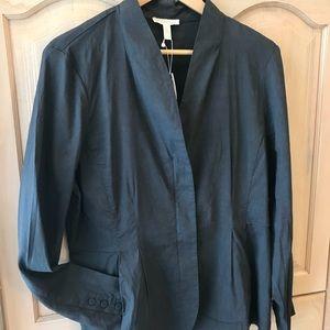 Eileen Fisher Organic Linen Viscose Stretch Jacket